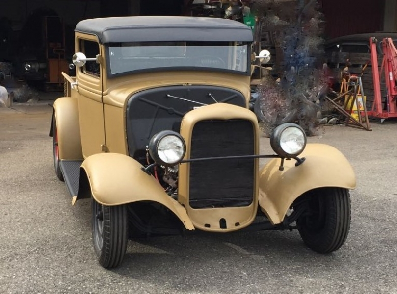 1934 ford model b pick up hot rod oldtimer us. Black Bedroom Furniture Sets. Home Design Ideas