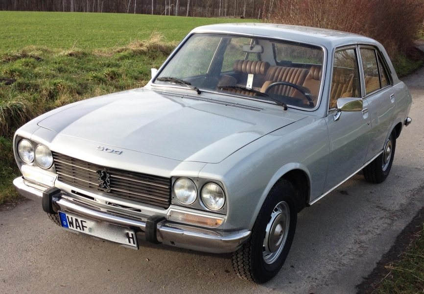 peugeot 504 ti automatique